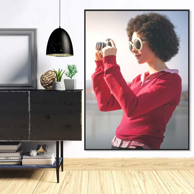 wandpaneel XL frame met eigen foto